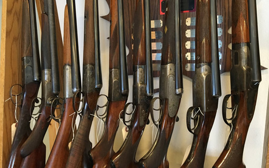 traditional-side-by-side-guns-on-rack